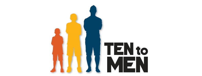 Infographic silhouette of a young boy, a teenager and an adult