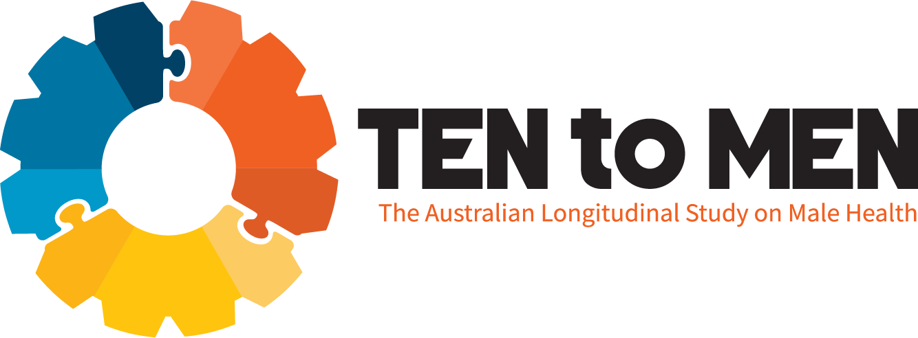 Ten to Men: The Australian Longitudinal Study on Male Health - logo