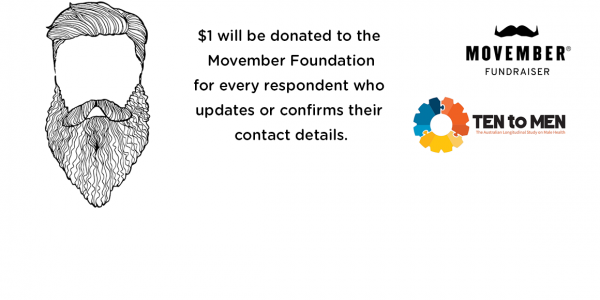 Movember fundraiser logo