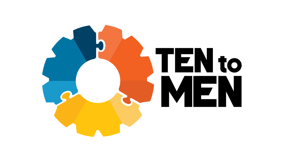Ten to Men logo